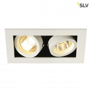 SLV 115521 Kadux 2 GU10 inbouwspot wit