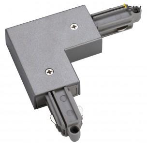 SLV 143052 1-Fase hoekverbinder zilvergrijs