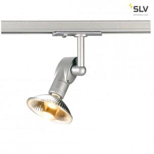 SLV 143482 Luna 1  zilvergrijs 1-fase railverlichting