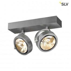 SLV 147266 Kalu 2 alu geborsteld plafondlamp