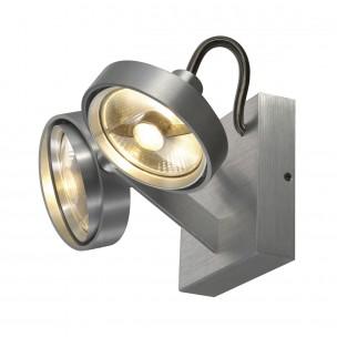 SLV 147716 Kalu 2 ES111 Double alu plafondlamp