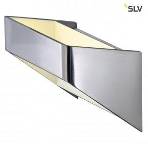 SLV 151476 Dacu Space alu geborsteld / wit wandlamp