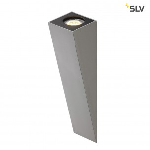 SLV 151564 Altra Dice WL 2 zilvergrijs / zwart wandlamp