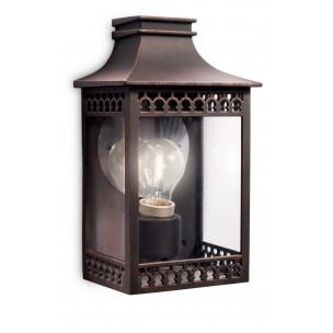 Philips Hedge 162358616 roestbruin myGarden wandlamp