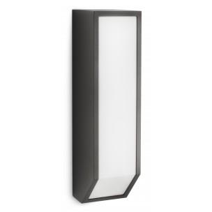 Philips Feather 169329316 antraciet Ecomoods Outdoor wandlamp