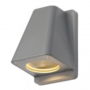 SLV 227194 Wallyx GU10 zilvergrijs wandlamp buiten