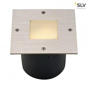 SLV 227495 Wetsy edelstaal vierkant grondspot buiten