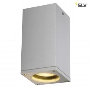 SLV 229584 Theo Ceiling Out zilvergrijs plafondlamp buiten