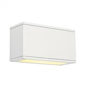 229611CL Theos 101 E27 wit wandlamp buiten Beschadigde verpakking