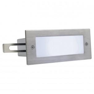 SLV 230231 Brick LED 16 wit edelstaal wand inbouwspot