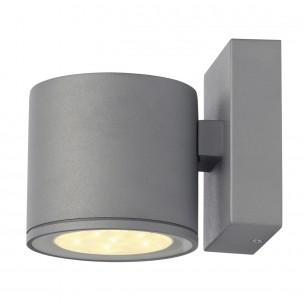 SLV 230332 LED Sitra 6W warmwit zilvergrijs wandlamp buiten