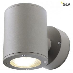 SLV 230364 Sitra Wall Up en Down steengrijs wandlamp buiten