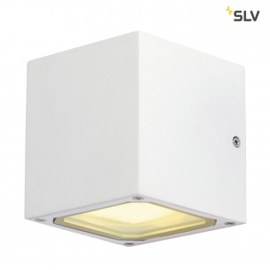 SLV 232531 Sitra Cube wit wandlamp buiten