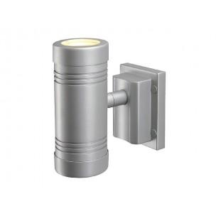 SLV 228802 Myra Up-Down zilvergrijs wandlamp buiten