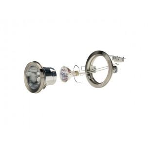 SLV 113318 Luzo 2 metaal geborsteld MR16 inbouwspot