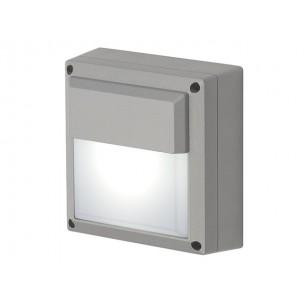 SLV 229904 WL 172 GX53 zilvergrijs wandlamp buiten