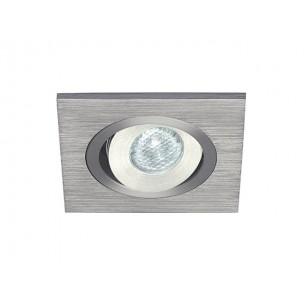 SLV 111871 Lelex 1 alu LED wit inbouwspot