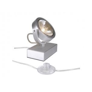 SLV 147286 Kalu Floor 1 alu geborsteld vloerlamp
