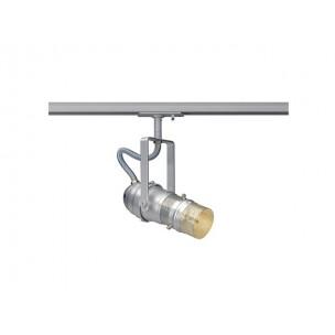 SLV 143704 Par Mesh 16 GU10 zilvergrijs 1-fase railverlichting