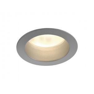 SLV 112882 LED Horn zilvergrijs inbouwspot