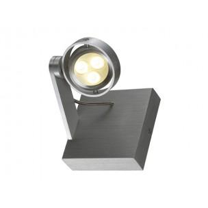 SLV 147762 Kalu 2 LED alu warmwit plafondlamp