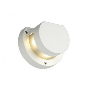 SLV 231481 Kyklop Wall wit LED warmwit wandlamp buiten