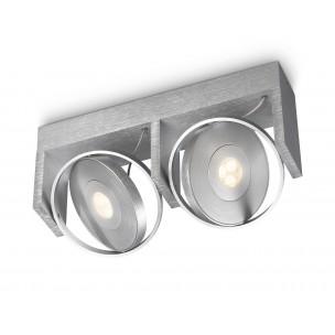 Philips Ledino Particon 531524816 led plafondlamp alu