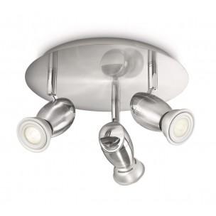 Philips myLiving Chestnut 55693/17/16 plafondlamp mat chroom