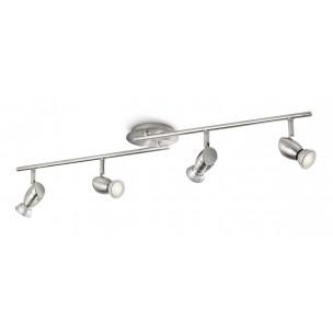 Philips myLiving Chestnut 55694/17/16 plafondlamp mat chroom