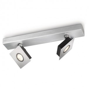 Philips Ledino Metrys 56432/48/16 led plafondlamp alu