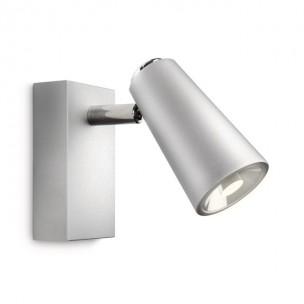 Philips Ledino Deltys 56460/48/16 led wandlamp zilvergrijs