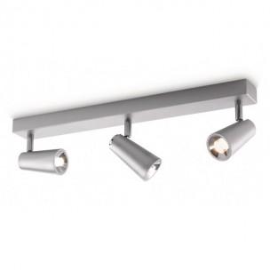 Aanbieding Philips Ledino Deltys 564634816 led plafondlamp zilvergrijs