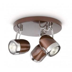 Philips myLiving Balsa 56483/43/16 plafondlamp bruin