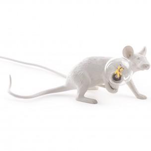 sel-14886 Seletti Mouse Lamp Lie Down tafellamp