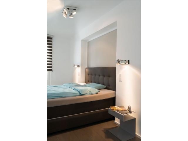 slv 147640 kalu 4 vierkant zwart wandarmatuur. Black Bedroom Furniture Sets. Home Design Ideas