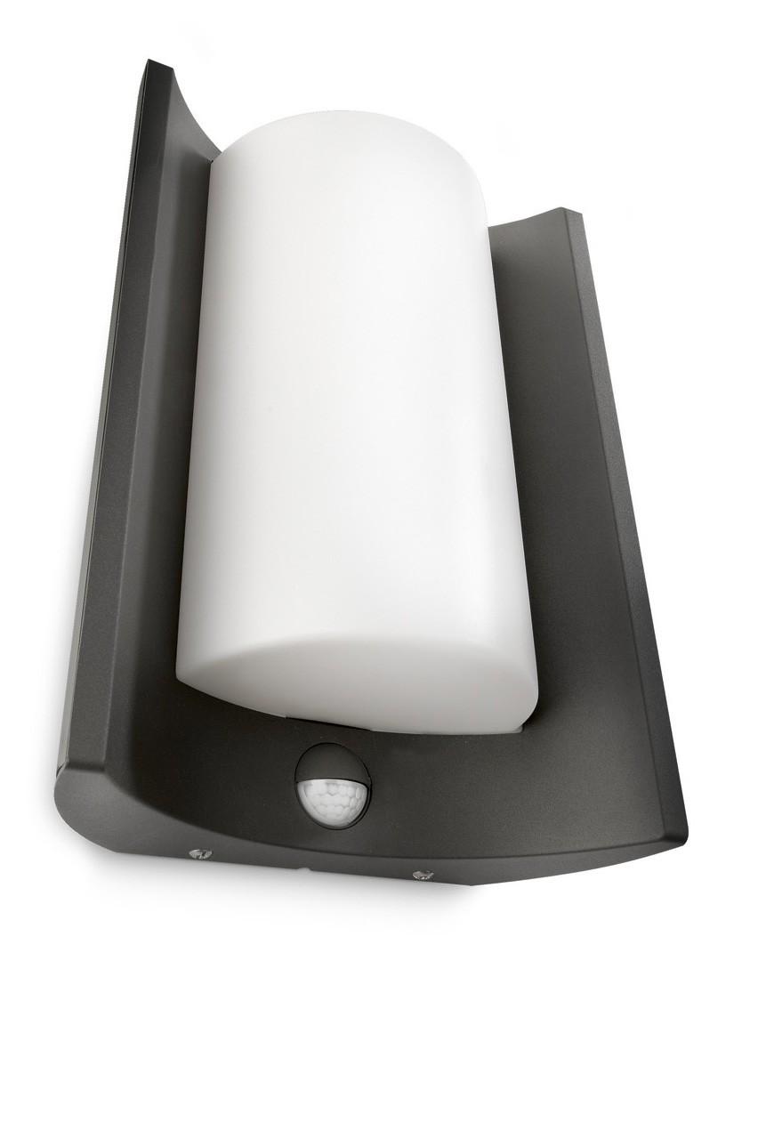 philips meander 164059316 antraciet sensor ecomoods outdoor wandlamp. Black Bedroom Furniture Sets. Home Design Ideas