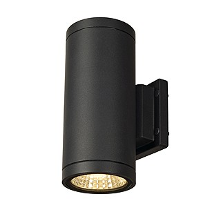 Slv 228525 enola c out up down antraciet led wandlamp buiten 4024163137577 - Buiten image outs ...