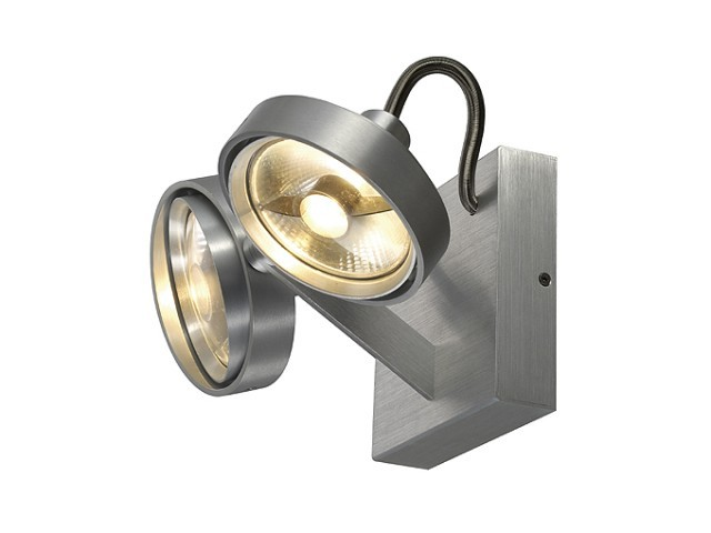 slv 147716 kalu 2 es111 double alu plafondlamp. Black Bedroom Furniture Sets. Home Design Ideas