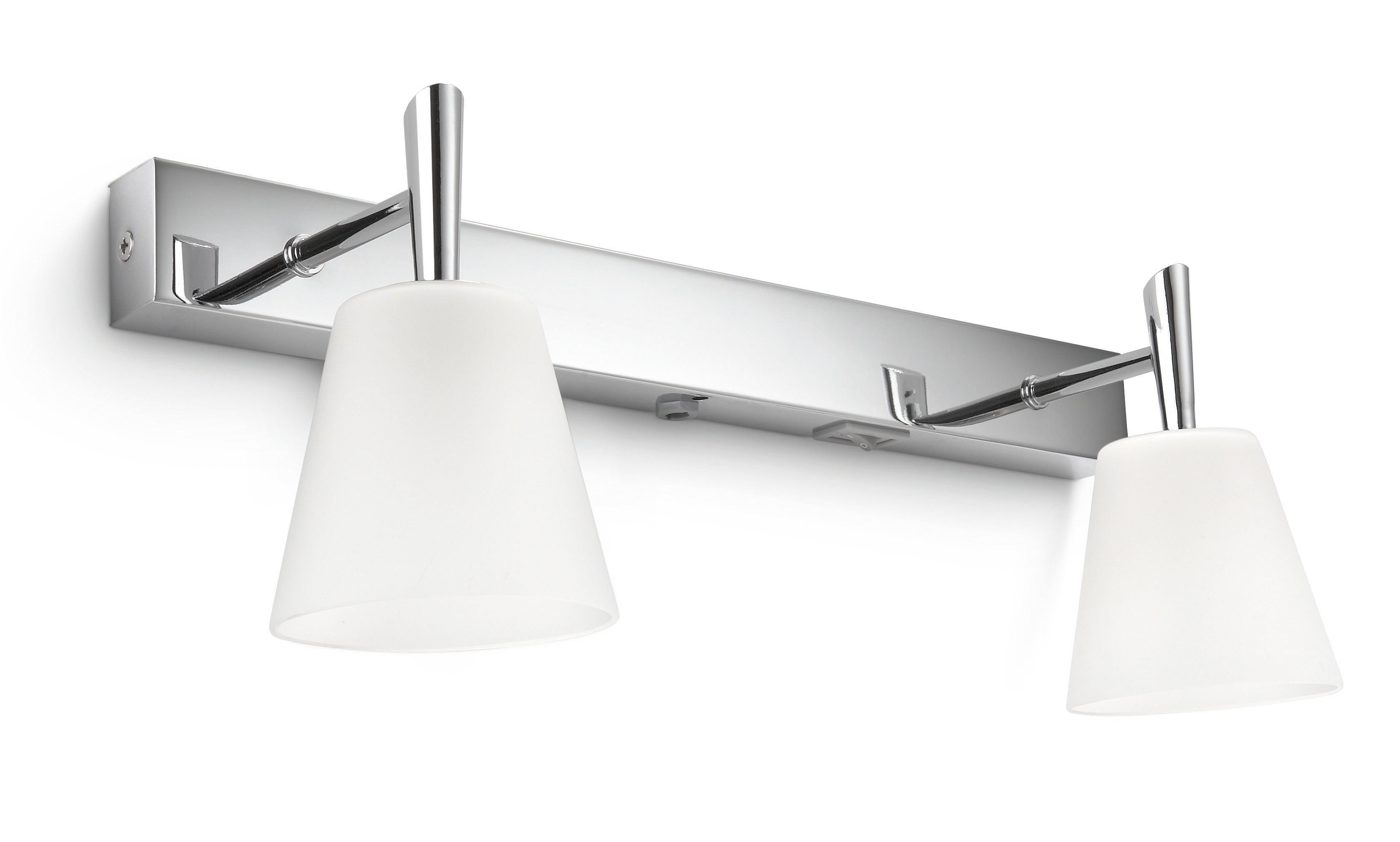 Philips mybathroom hydrate 34082 11 16 wandlamp for Badkamerverlichting spiegel