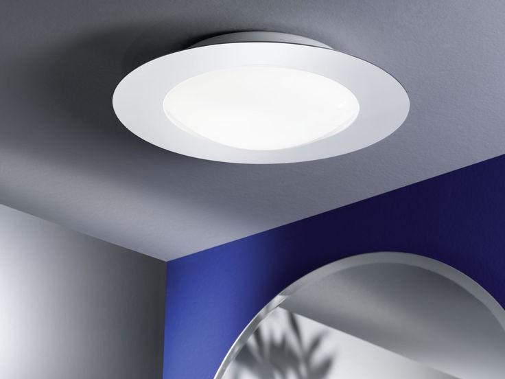 92097 calvin eglo led wand plafondlamp badkamerverlichting for Badkamerverlichting led