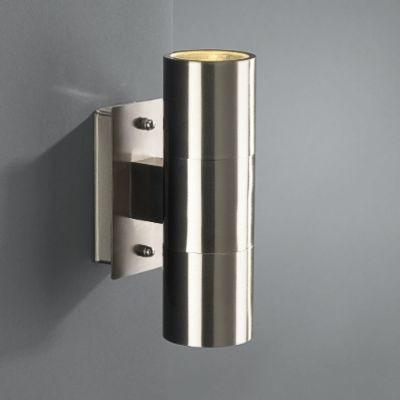 1615747pn massive bochum rvs wandlamp buiten. Black Bedroom Furniture Sets. Home Design Ideas