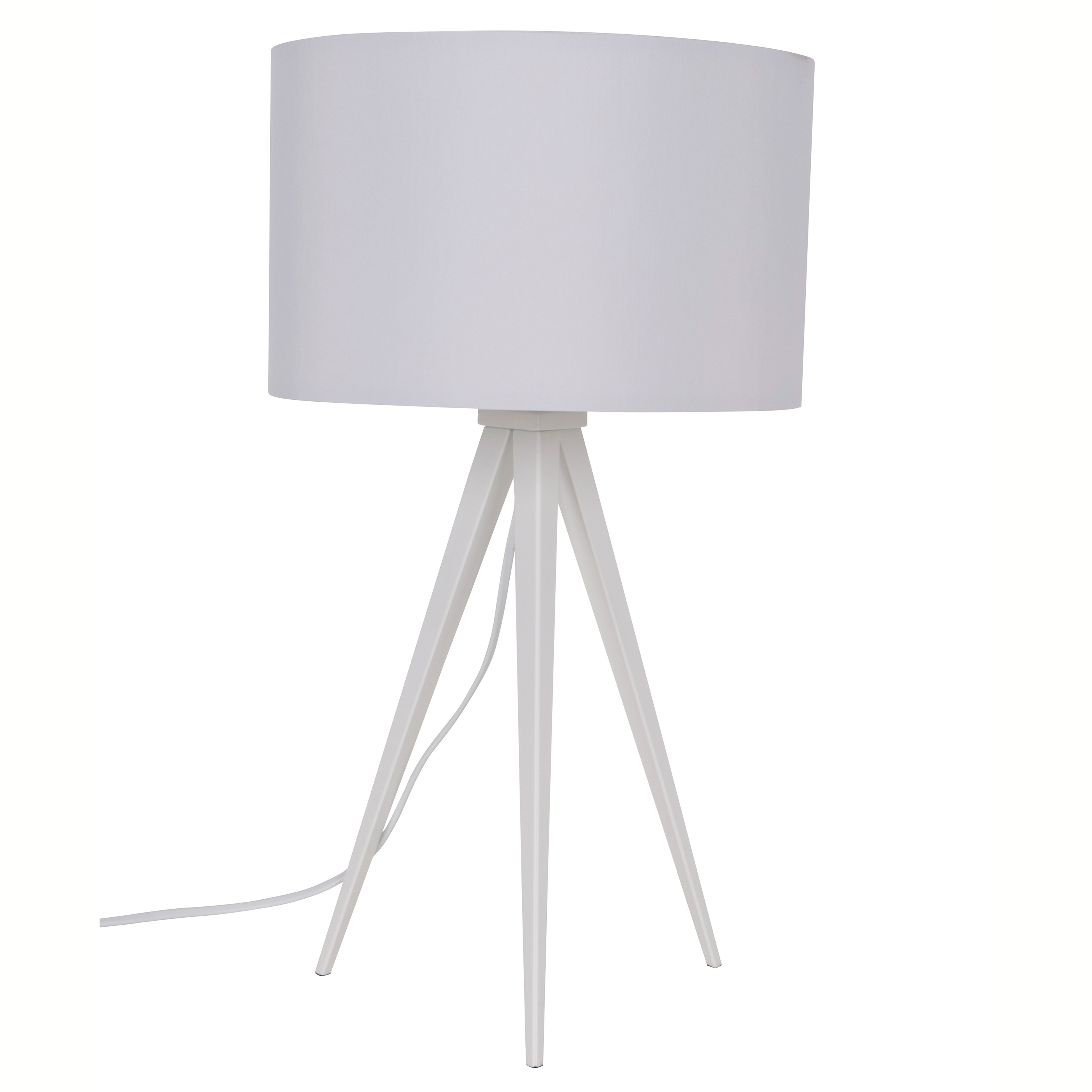 zui 5200007 Zuiver Tripod tafellamp wit