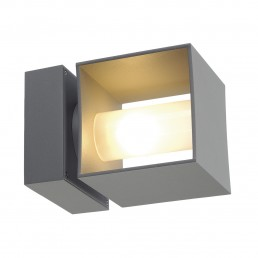 SLV 1000335 square turn zilvergrijs 1xg9