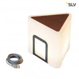 SLV 1000400 Kenga 17 draadloze tafellamp met menukaarthouder