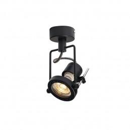 SLV 1000705 n-tic spot 230v zwart 1xgu10