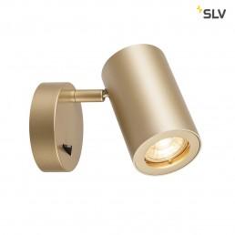 SLV 1000731 enola_b koper 1xgu10, met schakelaar