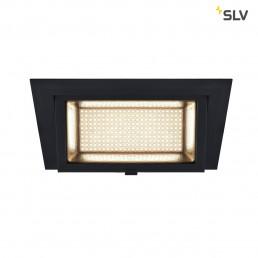 SLV 1000787 alamea led inbouw zwart 1xled 3000k 35w