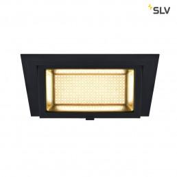 SLV 1000788 alamea led inbouw zwart 1xled 3000k 45w