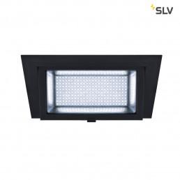 SLV 1000789 alamea led inbouw zwart 1xled 4000k 35w