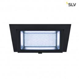 SLV 1000790 alamea led inbouw zwart 1xled 4000k 45w